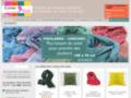 Articles faits-mains en coton et soie
